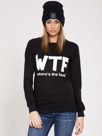 Czarna bluza WTF