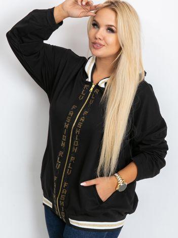 Czarna bluza plus size Canva