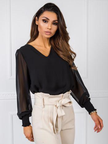 Czarna bluzka Amelia RUE PARIS