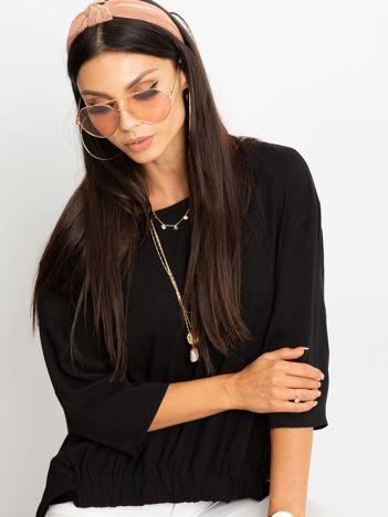 Czarna bluzka Fine