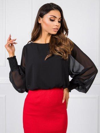 Czarna bluzka Laylla RUE PARIS