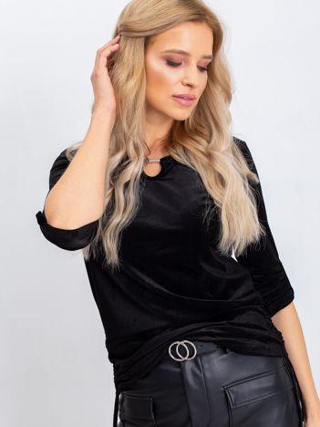 Czarna bluzka Samantha