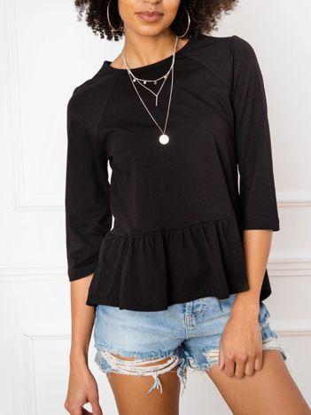 Czarna bluzka Simone