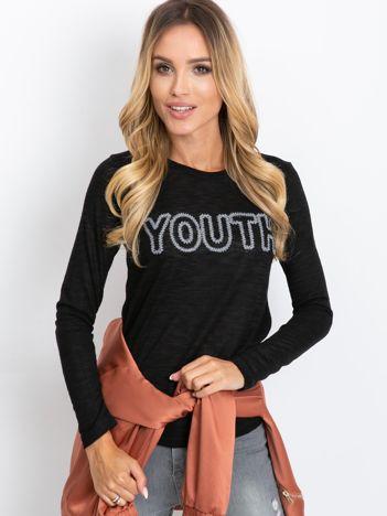 Czarna bluzka Youth