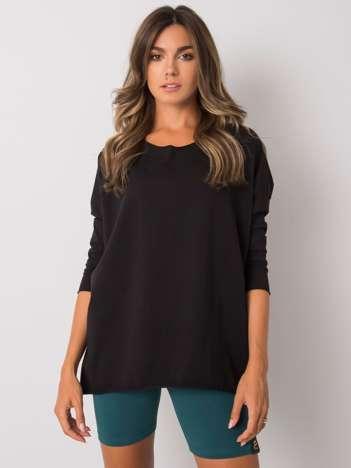 Czarna bluzka z bawełny Carlee