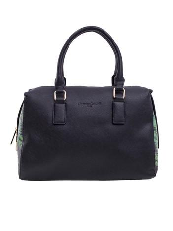 Czarna damska torba kuferek