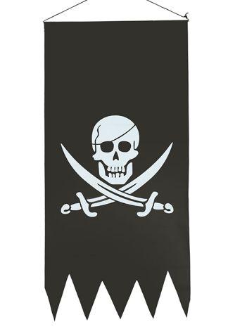 Czarna flaga piracka