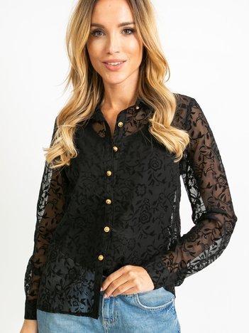 Czarna koszula Jessica