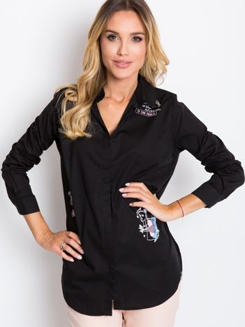 Czarna koszula Trish