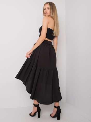 Czarna spódnica asymetryczna Shayna RUE PARIS