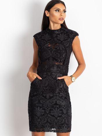 Czarna sukienka Adorable