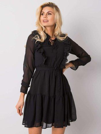 Czarna sukienka Aurelia RUE PARIS