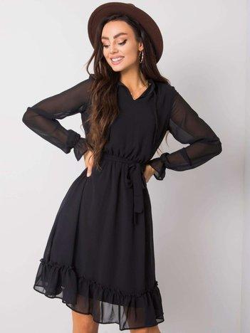Czarna sukienka Blanca RUE PARIS