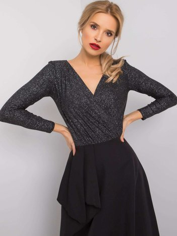 Czarna sukienka Blanche