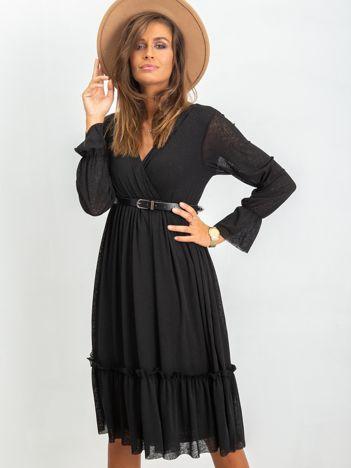 Czarna sukienka Boom