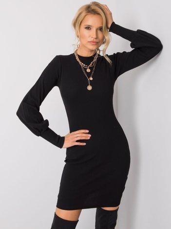 Czarna sukienka Cally RUE PARIS