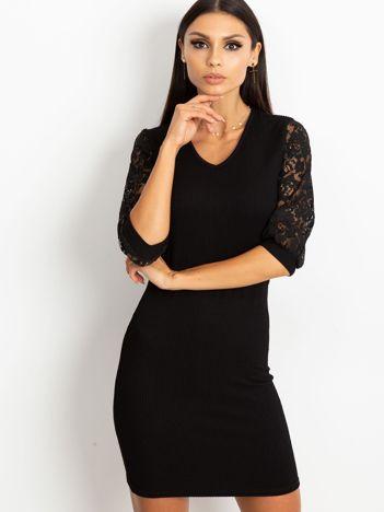 Czarna sukienka Cherish
