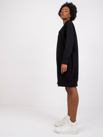 Czarna sukienka Cristine