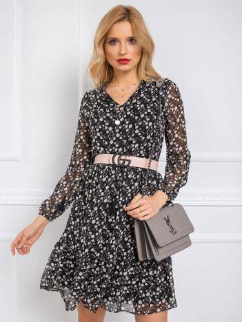 Czarna sukienka Daisy RUE PARIS