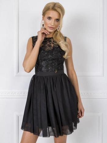 Czarna sukienka Elena