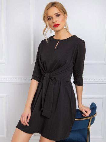 Czarna sukienka Esther