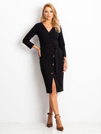 Czarna sukienka Future