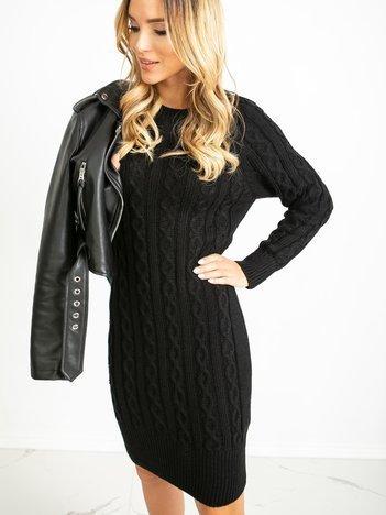 Czarna sukienka Glory