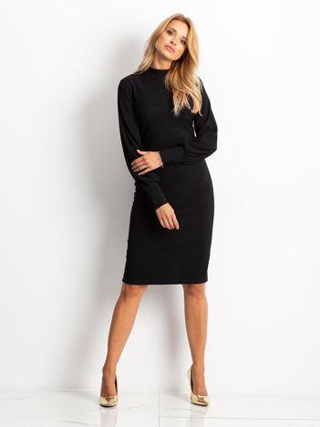 Czarna sukienka Goddies