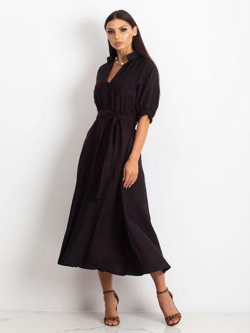 Czarna sukienka June
