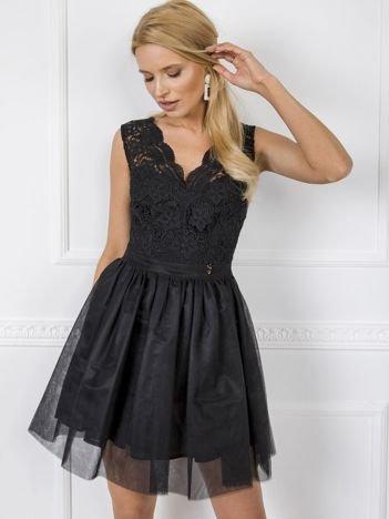 Czarna sukienka Leah