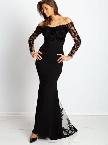 Czarna sukienka Majesty