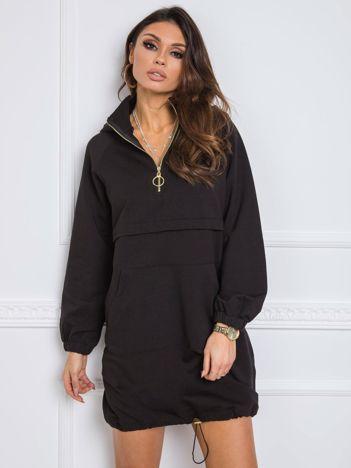 Czarna sukienka Nicole RUE PARIS