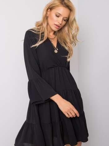 Czarna sukienka Rinna