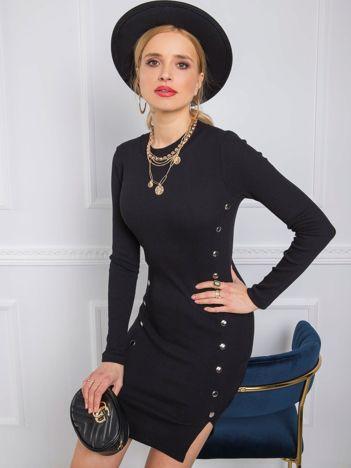 Czarna sukienka Rita RUE PARIS