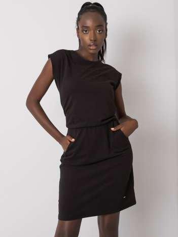 Czarna sukienka Ruby NIE ZNASZ MNIE