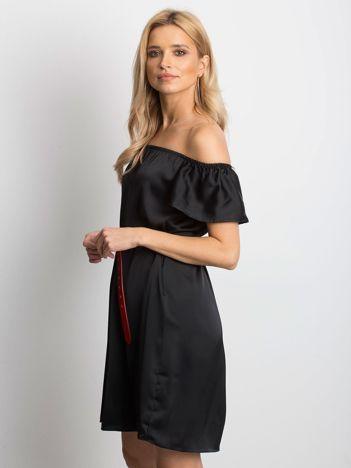 c2085b10d8 Czarna sukienka Satinelle