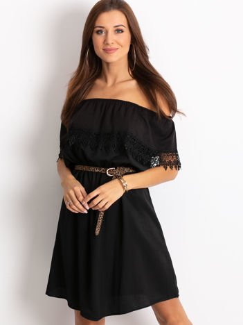 Czarna sukienka Serenity