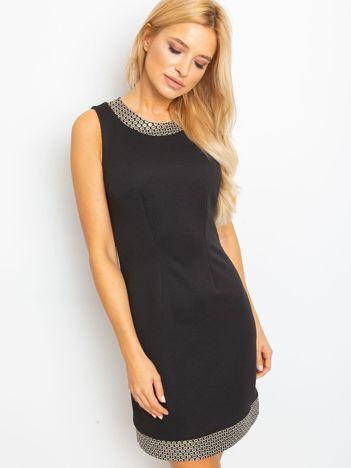 Czarna sukienka Shane