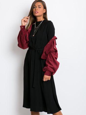 Czarna sukienka Smooth