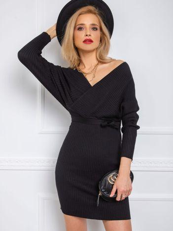 Czarna sukienka Sonja