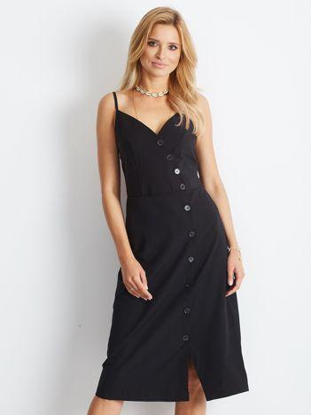 Czarna sukienka Temptation