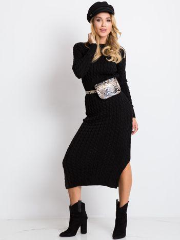 Czarna sukienka Travel