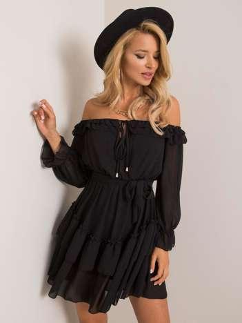 Czarna sukienka Whisper OCH BELLA