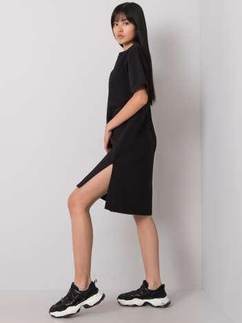 Czarna sukienka na co dzień Mistee RUE PARIS