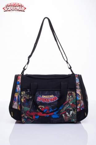 Czarna torba sportowa MARVEL SpiderMan