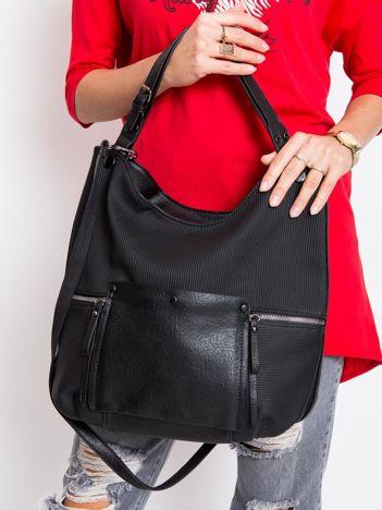 Czarna torebka miejska