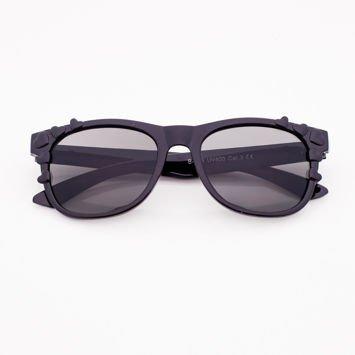 Czarne Dziecięce Okulary przeciwsłoneczne SERCA