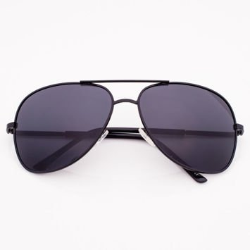 Czarne Okulary POLARYZACYJNE PILOTKI AVIATORY
