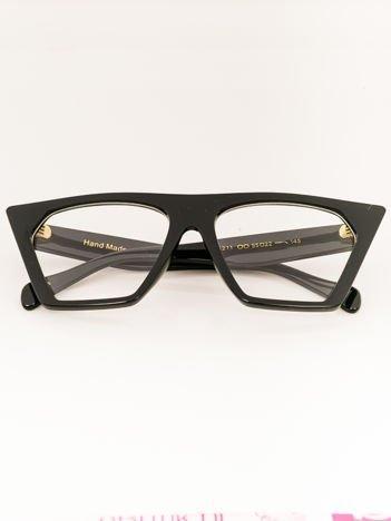Czarne Okulary Zerówki RETRO