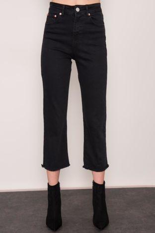 Czarne jeansy 7/8 BSL